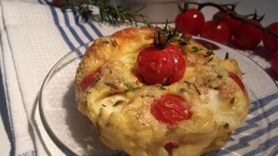 Clafoutis tomate