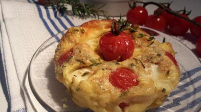 clafoutis tomates