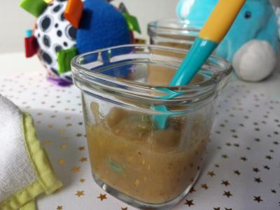 Compote pomme - poire et raisins secs
