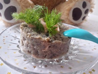purée fenouil - champignons