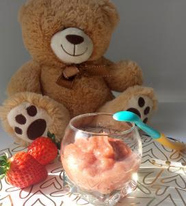 compote pomme-fraises