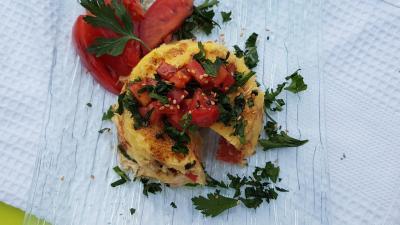 Bowl cake tomate