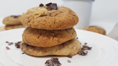 Chocolat et tona cookies