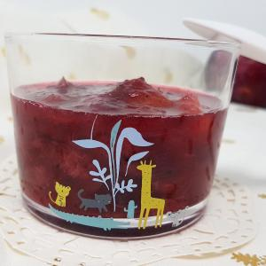 Compote prunes