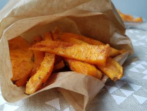 Frites de patate douce 1