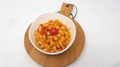 Haricots a la tomate