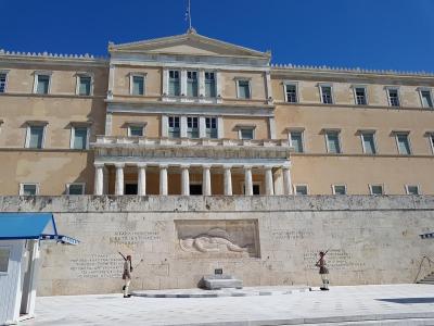 La garde au parlement