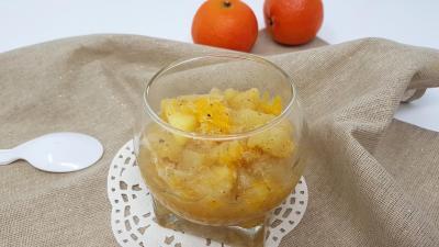 Mandarine et tonka