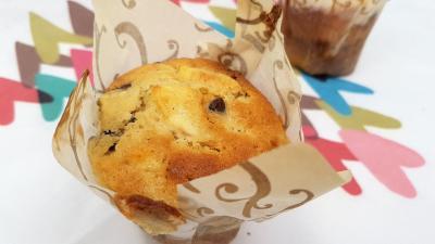 Muffin huuile amandes