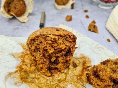 Muffin vanille et amandes