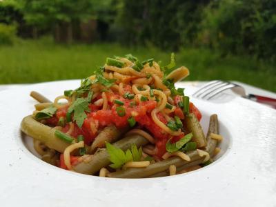 Nouilles legumes
