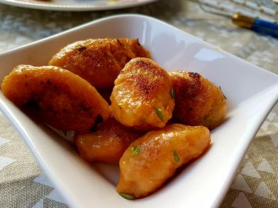 Patate douce et gnocchis