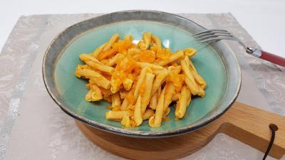 Pates aux carottes