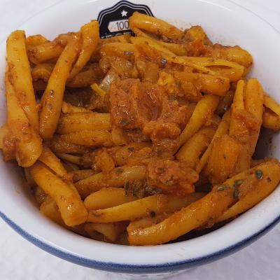 Pates sauce pesto rosso