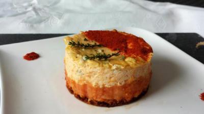 Cheese cake pomme de terre
