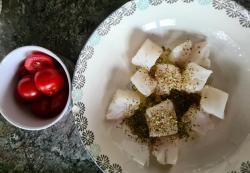 Poisson et tomates