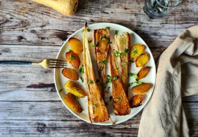 Pommes de terre et panais