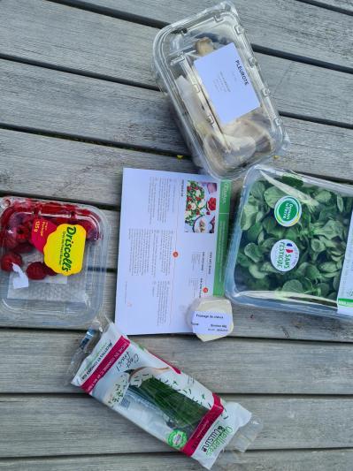 Preparation salade 1