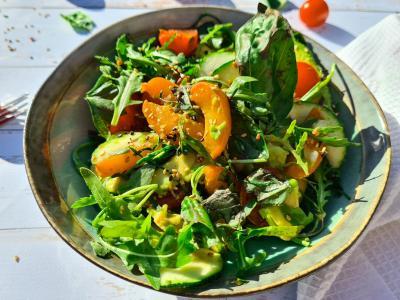 Salade abricot 1