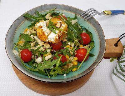 Salade chevre 1