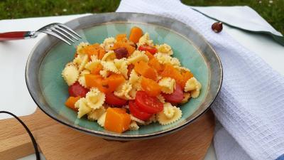 Salade courge et pates