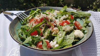 Salade d epinards 1