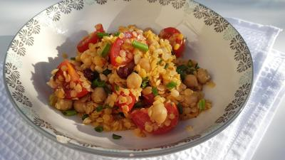 Salade de pois chiches 1