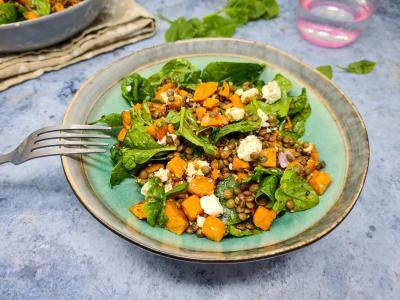 Salade lentilles et patate douce 1