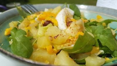 Salade pommes de terre et courgettes 1
