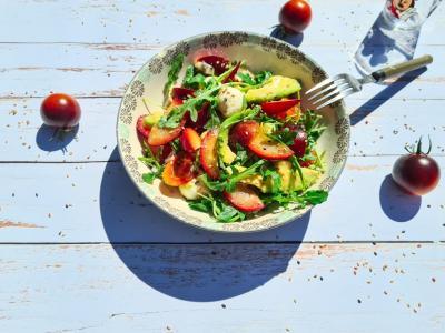 Salade prune