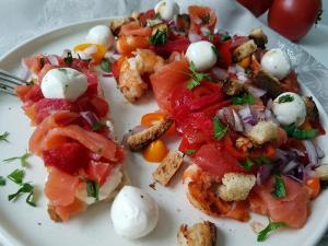 Salade tomate figue