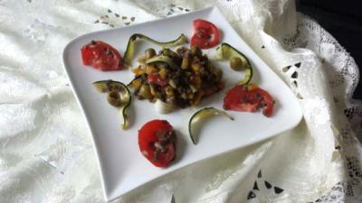 Saladedelentilles