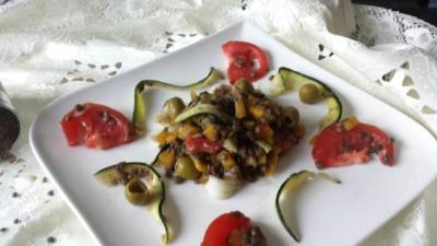 Saladedelentilles1