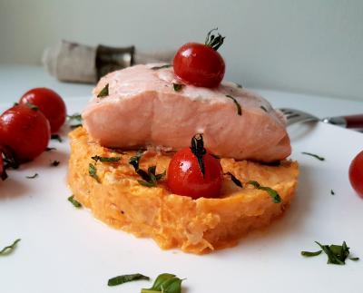 Saumon tomates