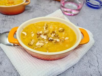 Soupe pommes de terre carottes