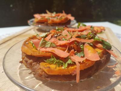 Tartelette carottes et patate douce