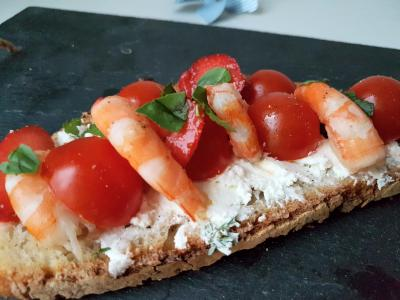 Tartine tomate