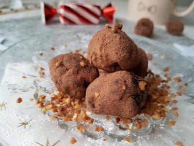 Truffes chocolat reglisse