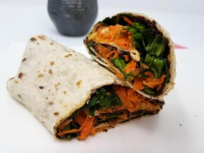 Wrap aux legumes